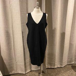 Black Dress,knee length,Plus sz,stretchy,New w/tag